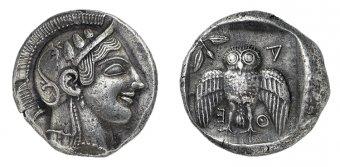Афинская декадрахма