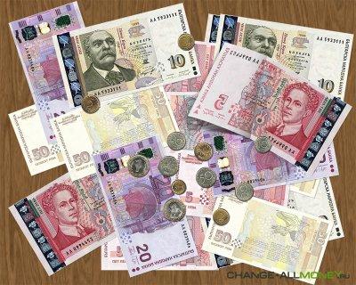 Деньги Болгарии - болгарский лев